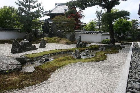 Como hacer un jardin zen jardin seco - Hacer jardin zen ...